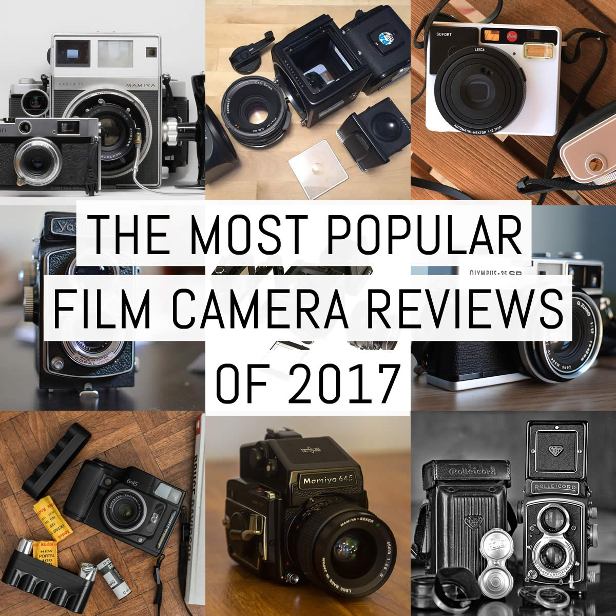 EMULSIVE's most popular film camera reviews of 2017